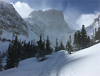 Rocky Mountain National Park in Winter